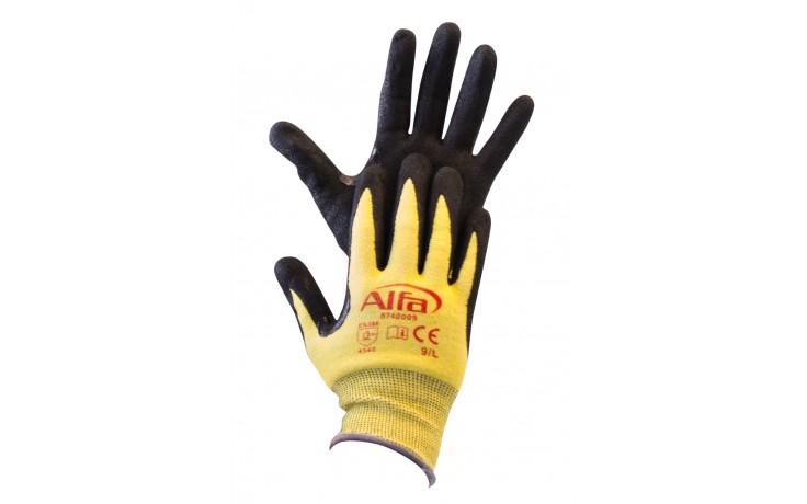 Nitril-Schnittschutzhandschuhe Größe 9
