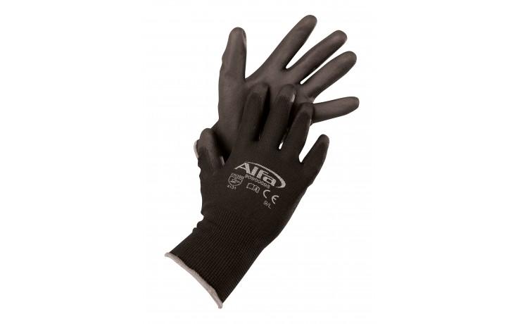 Montagehandschuh schwarz Größe 9