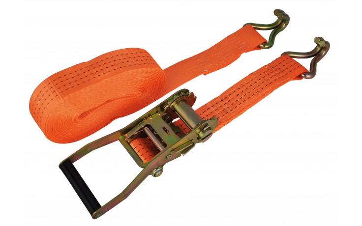 Zurrgurt, zweiteilig 25 mm x 6 m mit Ratsche & Spitzhaken