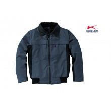 Praktische Pilotenjacke mit abtrennbaren Ärmeln und Taschen mit viel Stauraum in gewohnt hochwertiger Kübler-Qualität.