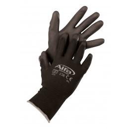 Montagehandschuh schwarz Größe 10